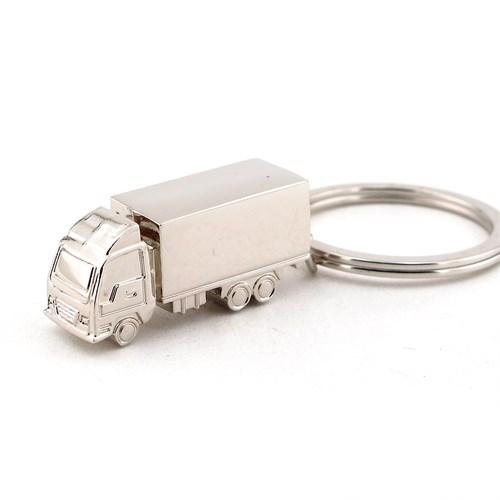 Solfera Kamyon Şekilli Parlak Metal Anahtarlık Tır Kc463