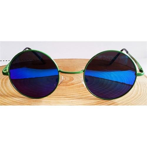 Köstebek Yeşil Çerçeveli Aynalı John Lennon Gözlük