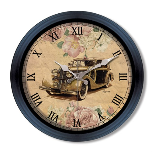 Clocktime By Cadran Retro Vintage Duvar Saati Ct101