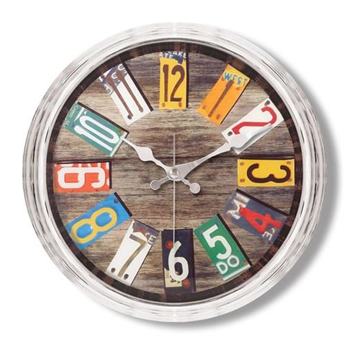 Clocktime By Cadran Metalize Vintage Duvar Saati Ct104