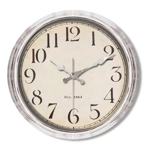 Clocktime By Cadran Metalize Vintage Duvar Saati Ct114