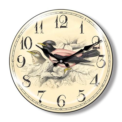 Clocktime By Cadran Dekoratif Bombeli Cam Duvar Saati Ct16