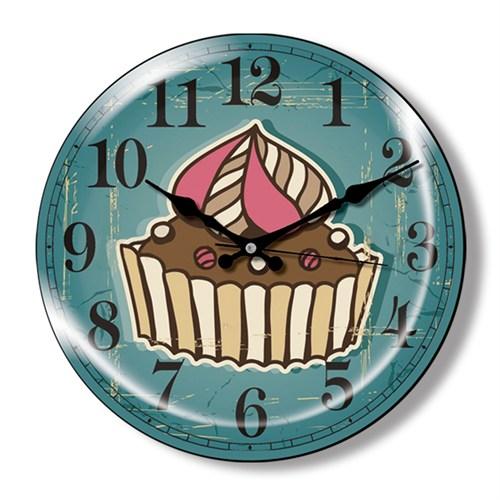 Clocktime By Cadran Dekoratif Bombeli Cam Duvar Saati Ct24
