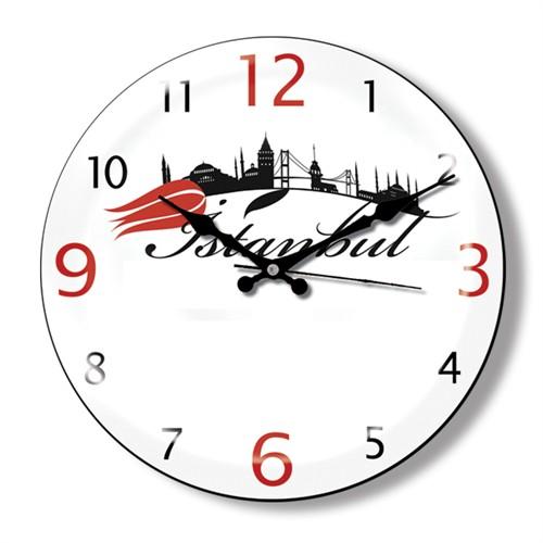 Clocktime By Cadran Dekoratif Bombeli Cam Duvar Saati Ct25
