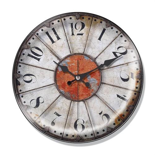 Clocktime By Cadran Dekoratif Bombeli Cam Duvar Saati Ct40