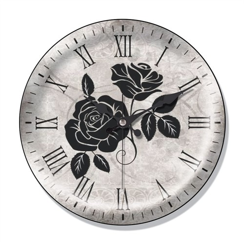 Clocktime By Cadran Dekoratif Bombeli Cam Duvar Saati Ct43