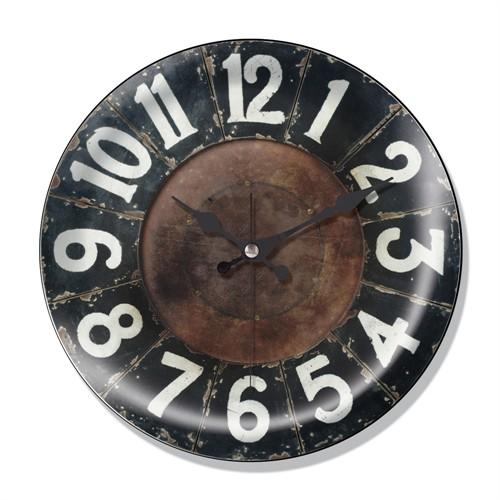 Clocktime By Cadran Dekoratif Bombeli Cam Duvar Saati Ct49