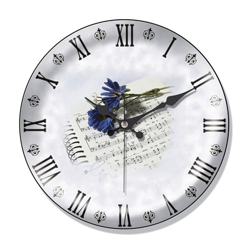 Clocktime By Cadran Dekoratif Bombeli Cam Duvar Saati Ct51