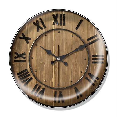 Clocktime By Cadran Dekoratif Bombeli Cam Duvar Saati Ct52