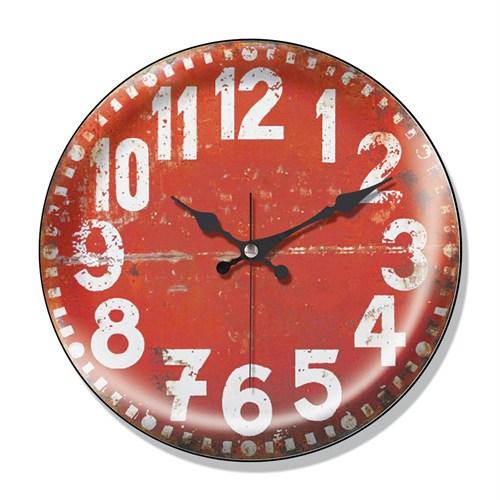 Clocktime By Cadran Dekoratif Bombeli Cam Duvar Saati Ct53