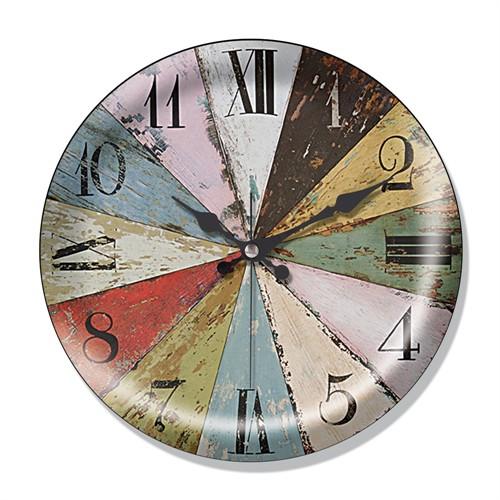 Clocktime By Cadran Dekoratif Bombeli Cam Duvar Saati Ct61