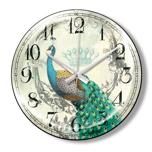 Clocktime By Cadran Dekoratif Bombeli Cam Duvar Saati Ct62