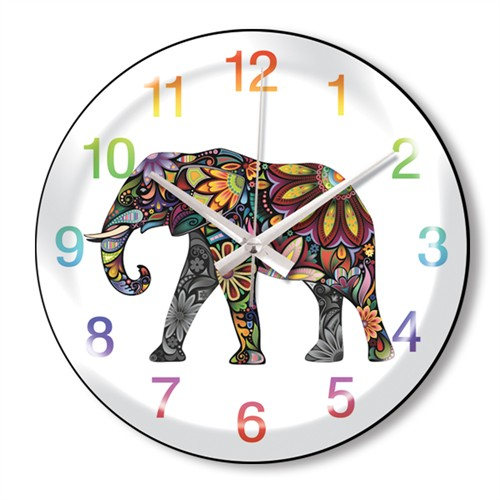 Clocktime By Cadran Dekoratif Bombeli Cam Duvar Saati Ct65