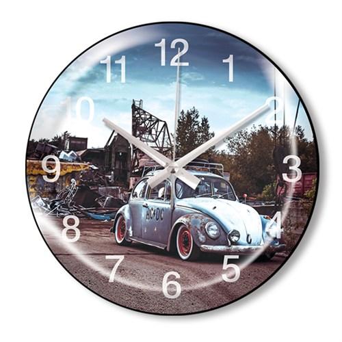 Clocktime By Cadran Dekoratif Bombeli Cam Duvar Saati Ct72