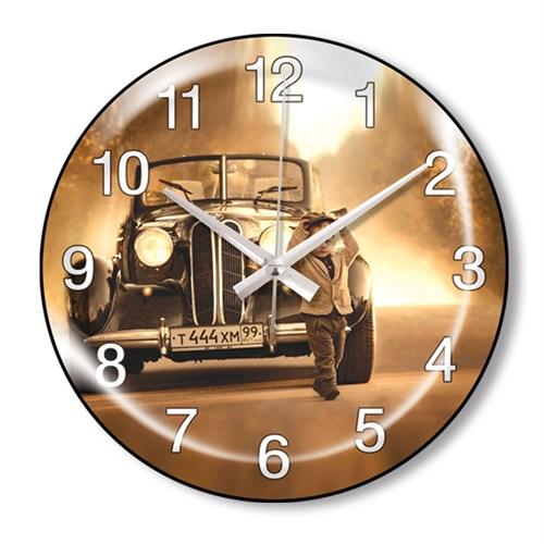 Clocktime By Cadran Dekoratif Bombeli Cam Duvar Saati Ct73
