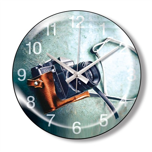 Clocktime By Cadran Dekoratif Bombeli Cam Duvar Saati Ct86