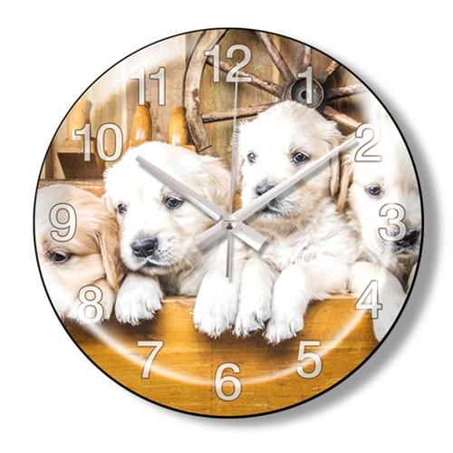 Clocktime By Cadran Dekoratif Bombeli Cam Duvar Saati Ct88