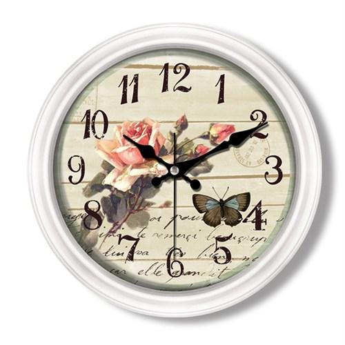 Clocktime By Cadran Retro Vintage Duvar Saati Ct92