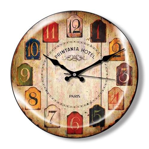 Clocktime By Cadran Dekoratif Bombeli Cam Duvar Saati Ct2