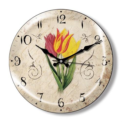 Clocktime By Cadran Dekoratif Bombeli Cam Duvar Saati Ct7