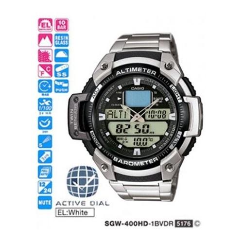 Casio Sgw-400Hd-1Bver Erkek Kol Saati