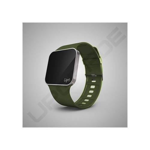 Upgrade Silver & Green Kol Saati