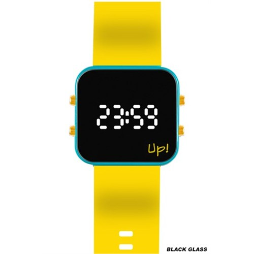 Upwatch Gturquoise&Yellow Kol Saati
