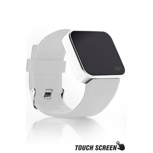 Upwatch Touch Shiny Silver&White Kol Saati