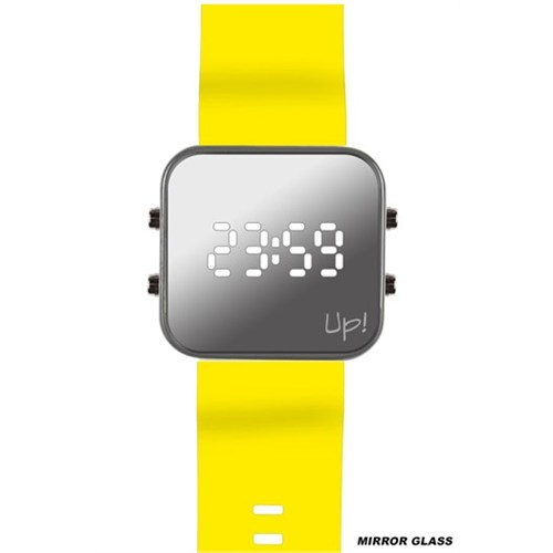 Upwatch Grey&Yellow Kol Saati
