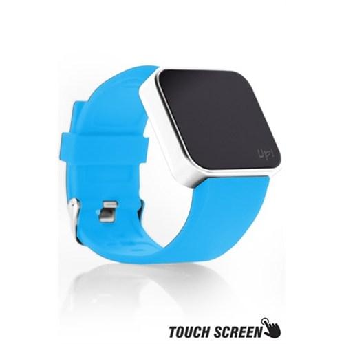 Upwatch Touch Shiny Silver&Turquoise Kol Saati