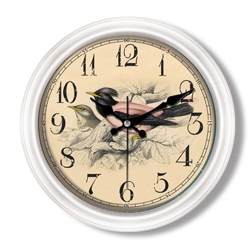 Clocktime By Cadran Retro Vintage Duvar Saati Ct100