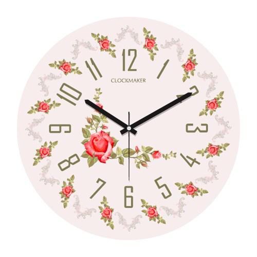 Clockmaker By Cadran 30X30 Mdf Duvar Saati Cmm105