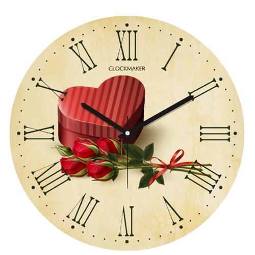 Clockmaker By Cadran 30X30 Mdf Duvar Saati Cmm108