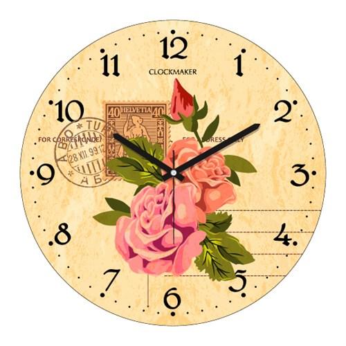 Clockmaker By Cadran 30X30 Mdf Duvar Saati Cmm110