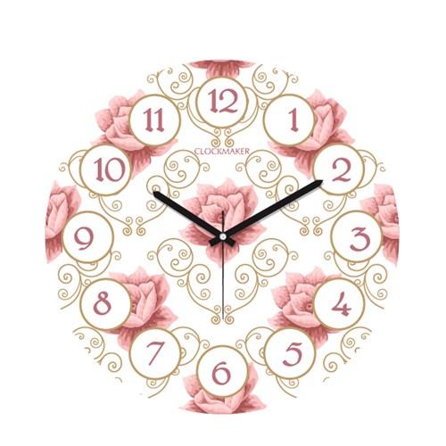 Clockmaker By Cadran 30X30 Mdf Duvar Saati Cmm114