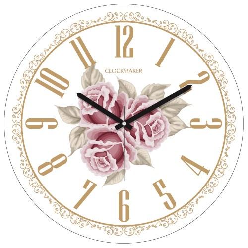 Clockmaker By Cadran 30X30 Mdf Duvar Saati Cmm120
