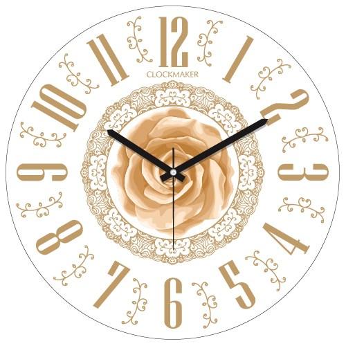 Clockmaker By Cadran 30X30 Mdf Duvar Saati Cmm121