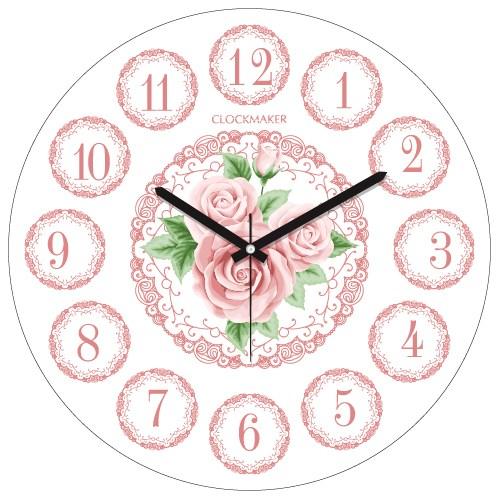 Clockmaker By Cadran 30X30 Mdf Duvar Saati Cmm126