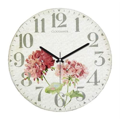 Clockmaker By Cadran Retro Vintage 30X30 Mdf Duvar Saati Cmm134