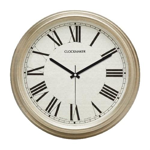 Clockmaker By Cadran Retro Vintage 30X30 Mdf Duvar Saati Cmm137