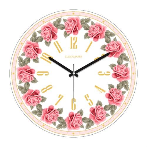 Clockmaker By Cadran 30X30 Mdf Duvar Saati Cmm184