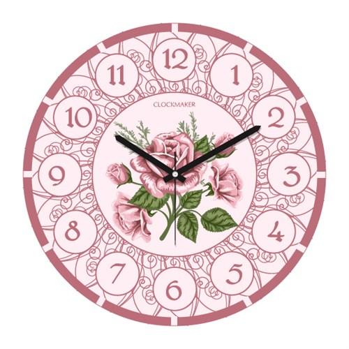 Clockmaker By Cadran 30X30 Mdf Duvar Saati Cmm187