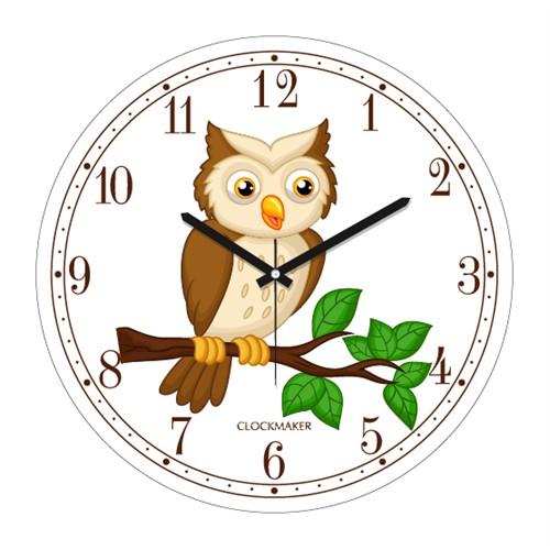 Clockmaker By Cadran 30X30 Mdf Duvar Saati Cmm189