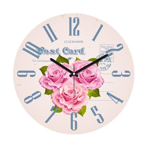 Clockmaker By Cadran 30X30 Mdf Duvar Saati Cmm192