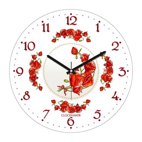 Clockmaker By Cadran 30X30 Mdf Duvar Saati Cmm194