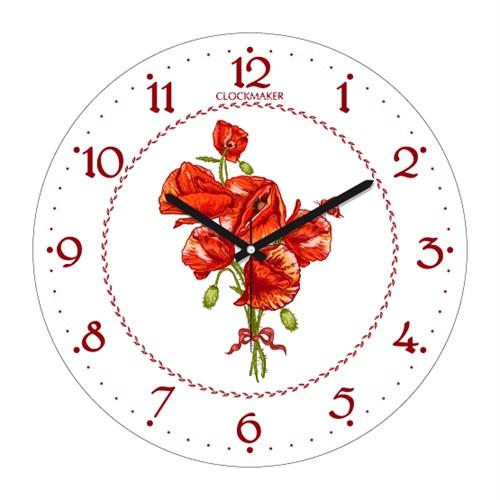 Clockmaker By Cadran 30X30 Mdf Duvar Saati Cmm200