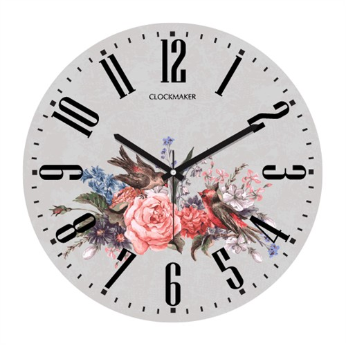 Clockmaker By Cadran 30X30 Mdf Duvar Saati Cmm10