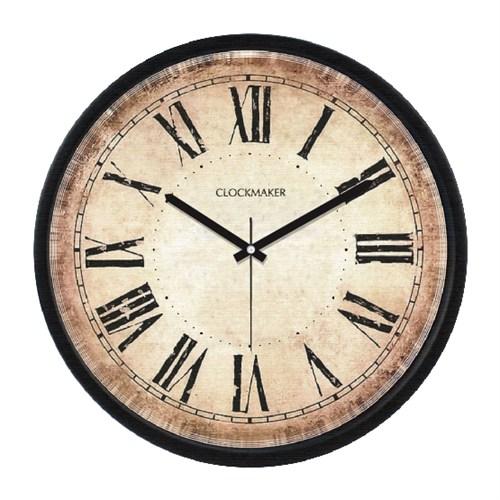 Clockmaker By Cadran Retro Vintage 30X30 Mdf Duvar Saati Cmm20