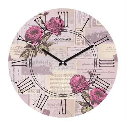 Clockmaker By Cadran 30X30 Mdf Duvar Saati Cmm5