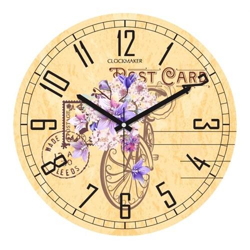 Clockmaker By Cadran 30X30 Mdf Duvar Saati Cmm8